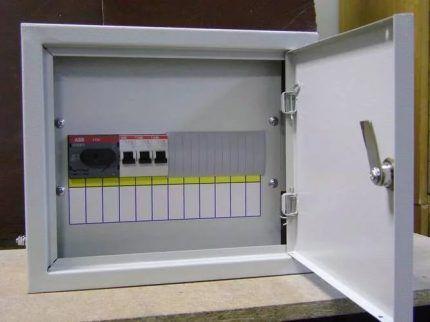 Электрощиток для дома