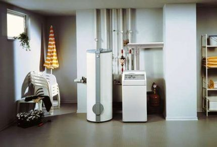 Газовый котел в доме