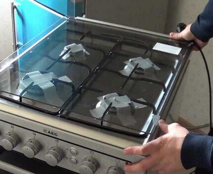 Установка газовой плиты в квартире