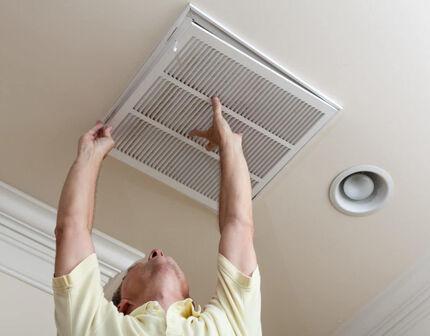 Замена вентиляционной решетки