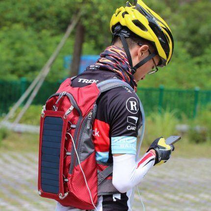 Рюкзак с солнечным ЗУ