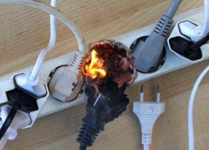 Одновременное включение электроприборов