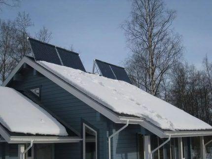 Функционирование СЭС зимой