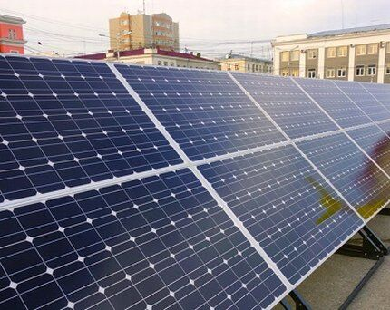 Монокристаллическая солнечная панель