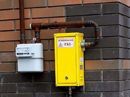 Система газоснабжения частного малоэтажного дома