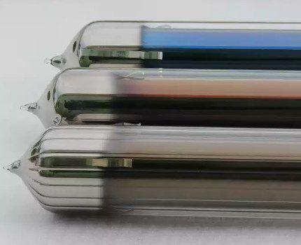 Коаксиальные трубки из стекла