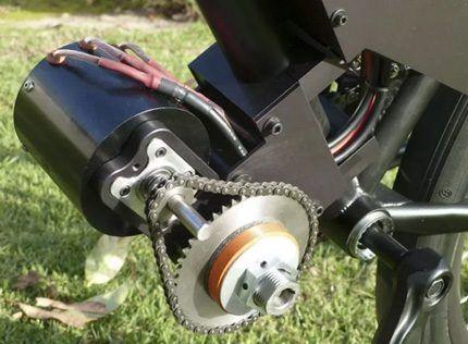 Веломотор для ветрогенератора