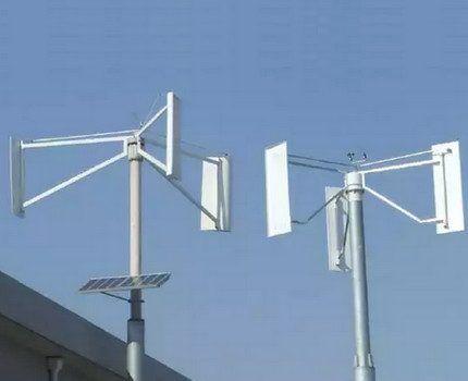 Бытовые модели ветрогенераторов