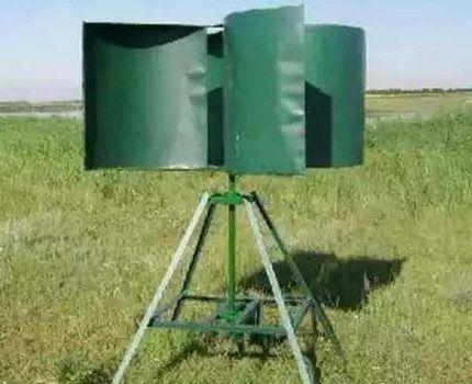 Ветряной генератор роторного типа