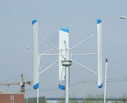 Ветрогенератор с вертикальной осью вращения