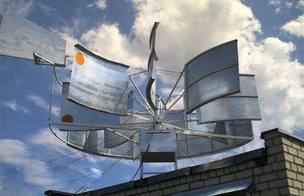 Ветрогенератор как дополнительный источник энергии