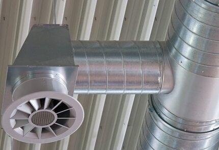 Металлический воздуховод