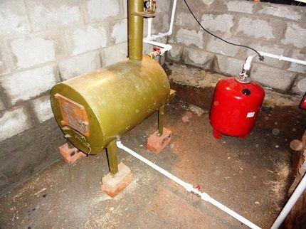 Самодельная газовая печь
