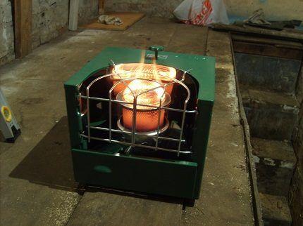 Чудо-печь для гаража «Солярогаз»
