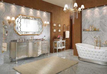 Гламурная ванная
