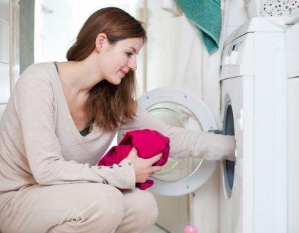 Эксплуатация стиральной машинки