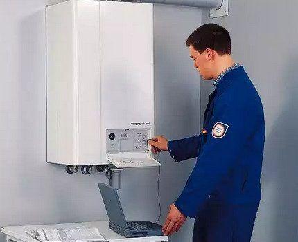 Обслуживание автоматики газового котла