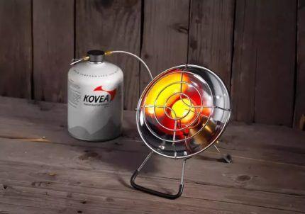 Газовый ИК прибор для обогрева