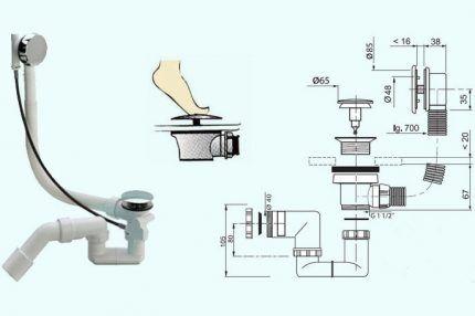 Схема автоматической обвязки