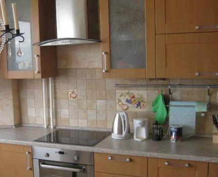 Газовый стояк на кухне