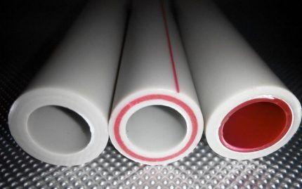 Армированные стекловолокном трубы