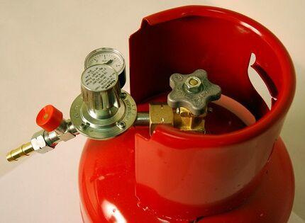 Принцип установки редутора на газовый баллон