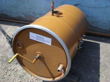 Самодельный биореактор из бочки