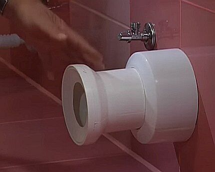 Подготовка канализационного отвода