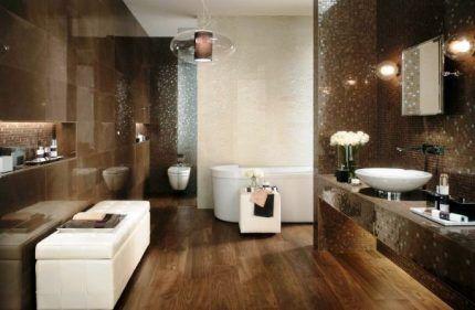 Освещение ванной арт-деко