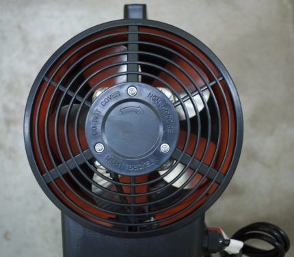 Вентилятор для газовой пушки
