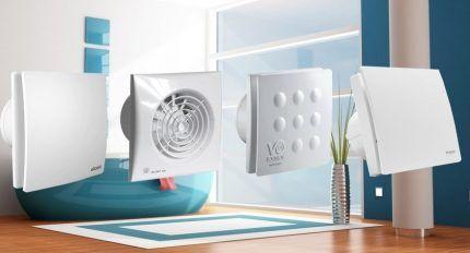 Автоматические вентиляторы для ванной