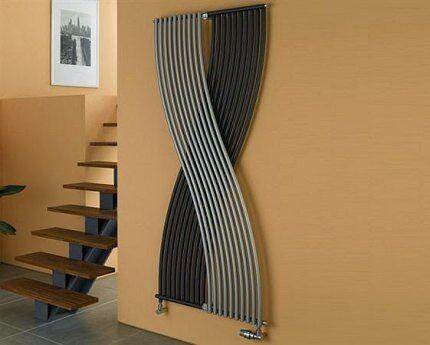 Трубчатый вертикальный радиатор