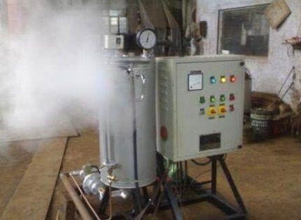 Работа водородного котла