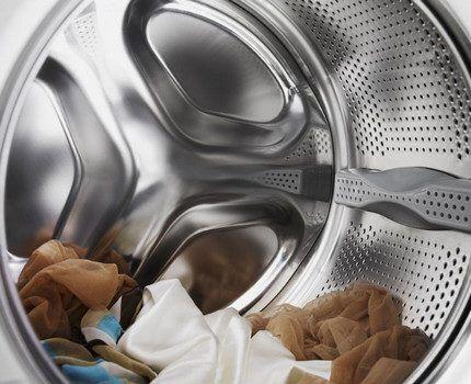 Вещи из деликатных тканей в стиральной машине