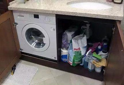 Компактная стиральная машинка