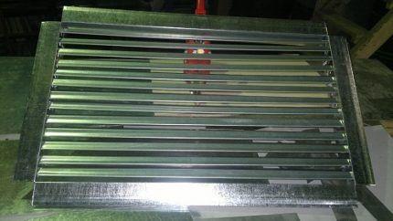 Алюминиевые решетчатые жироуловители