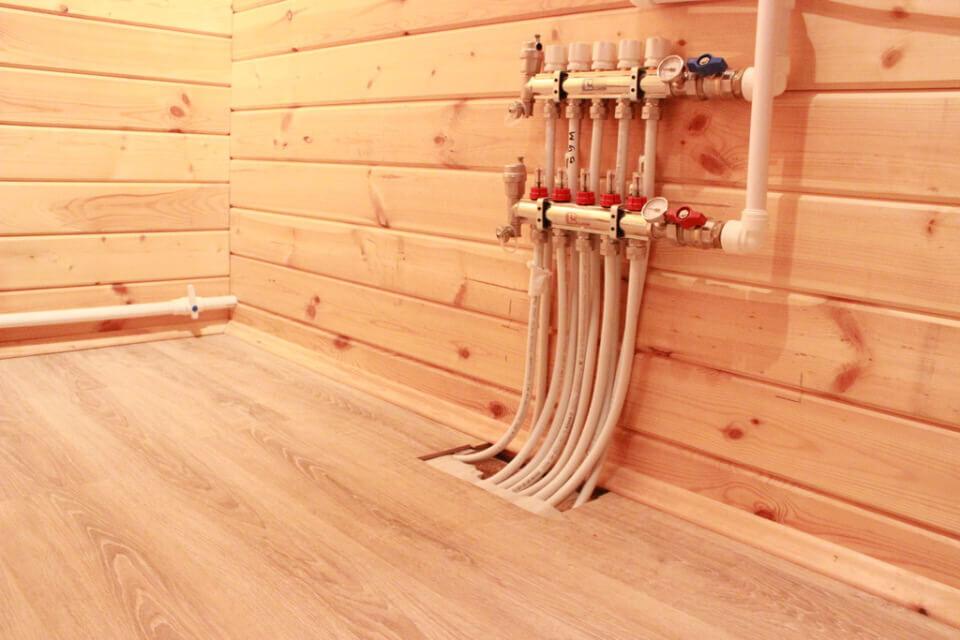 Теплый пол под деревянную доску