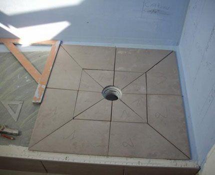 Укладка облицовочной плитки
