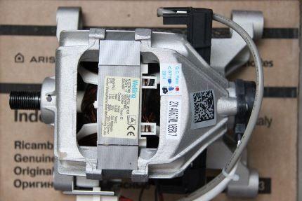 Внешний вид двигателя стиральной машинки