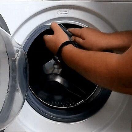 Как поменять уплотнительную резинку (манжету) на стиральной машине?