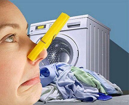 Чистка резинового уплотнителя стиральной машины