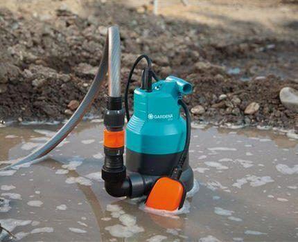 Насос с поплавковым выключателем