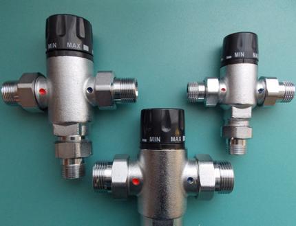 Трехходовые предохранительные клапаны