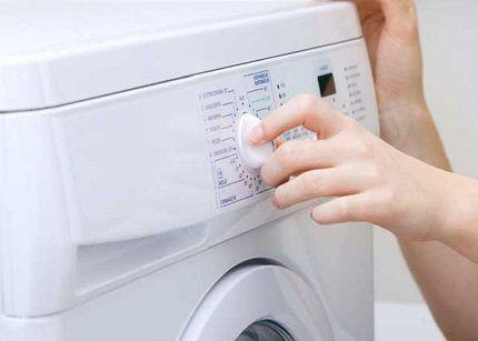 Проверка работоспособности стиралки