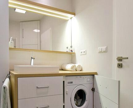 Раковина на столешницу над стиральной машиной