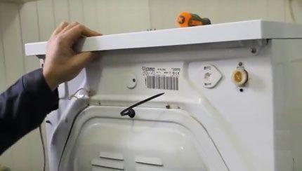 Разборка стиральной машины Индезит
