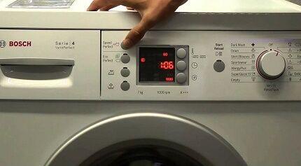 Перезагрузка программатора стиральной машинки