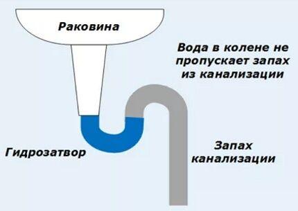 Принцип работы сифона
