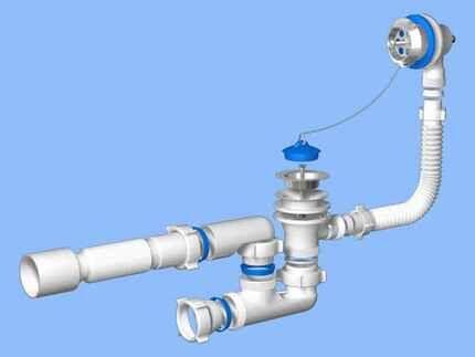 Механическая обвязка для ванны