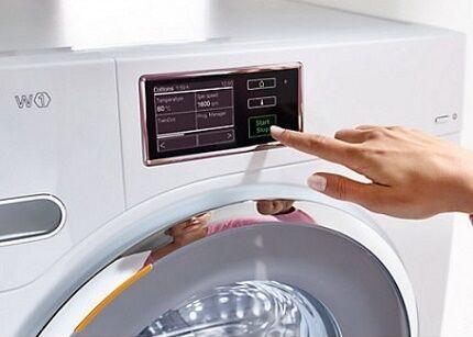 Стиральные машинки от Миле удобны в использовании